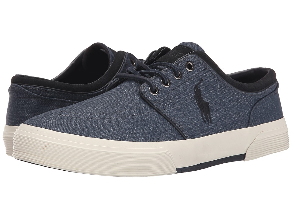 Polo Ralph Lauren - Faxon Low (Grey Heathered Nylon) Men