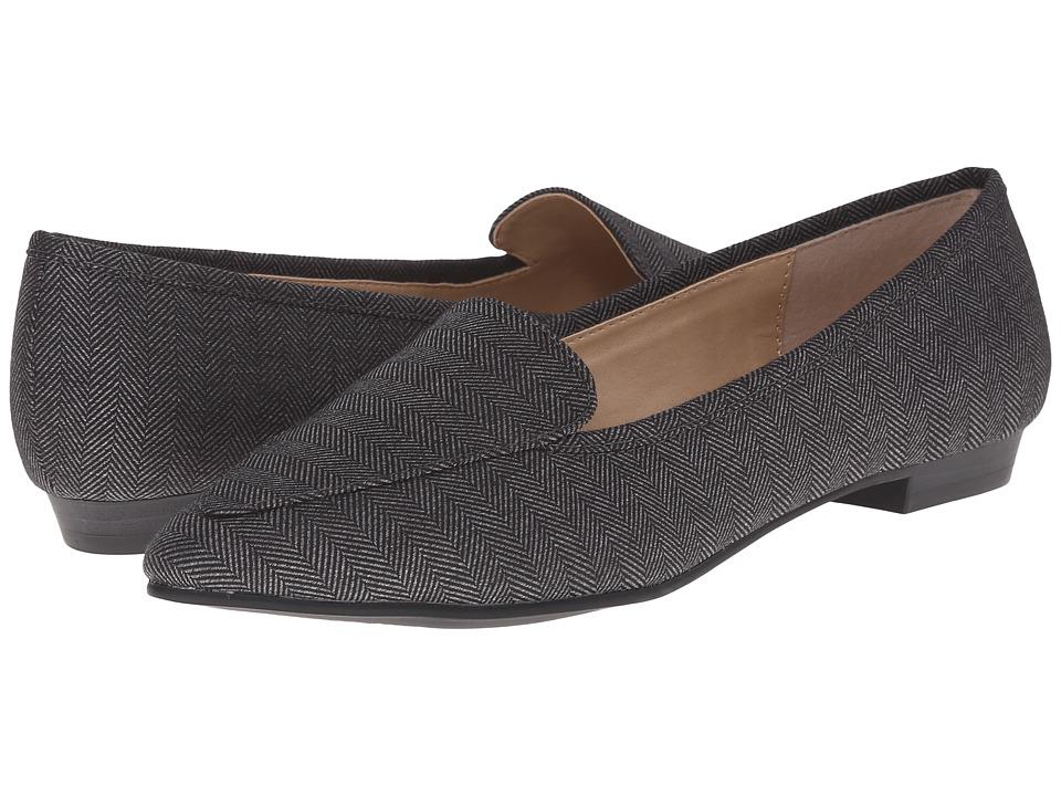 Image of Ann Marino - Sadie (Grey Menswear) Women's Slip on Shoes