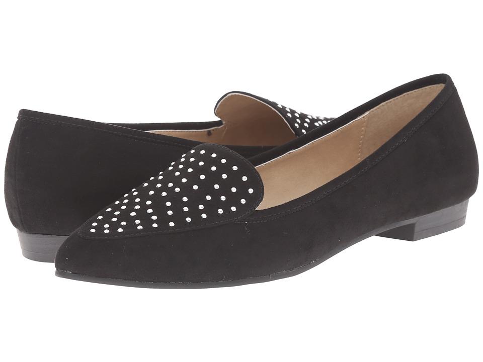Image of Ann Marino - Scala (Black Plush) Women's Slip on Shoes