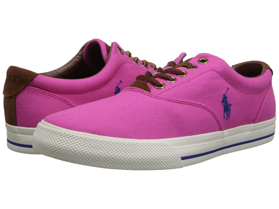 Polo Ralph Lauren - Vaughn (Madison Pink Canvas/Sport Suede) Men's Lace up casual Shoes