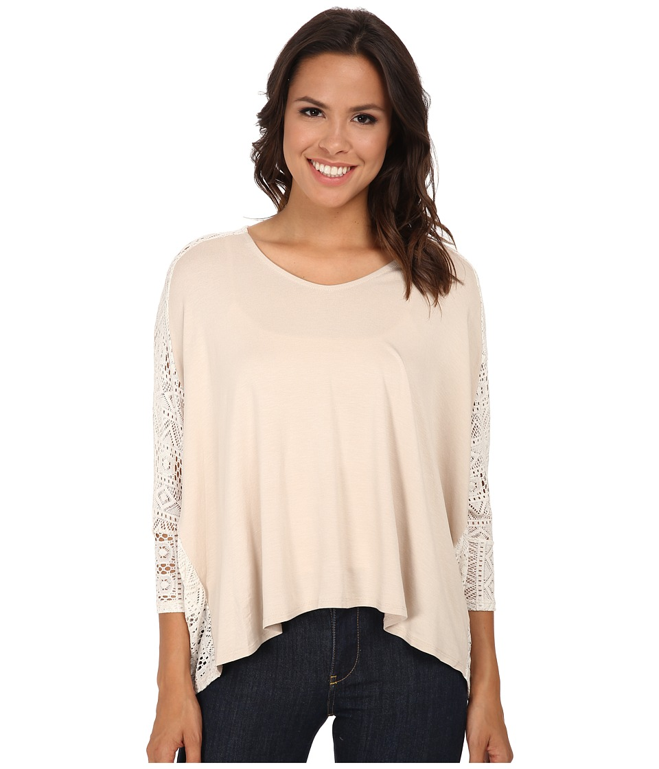 Gabriella Rocha - Kay 3/4 Sleeve Top (Sand) Women's Clothing