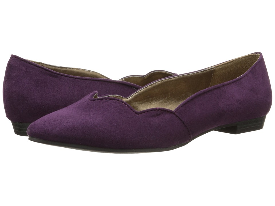 Ann Marino - Strait (Purple Plush) Women's Slip on Shoes