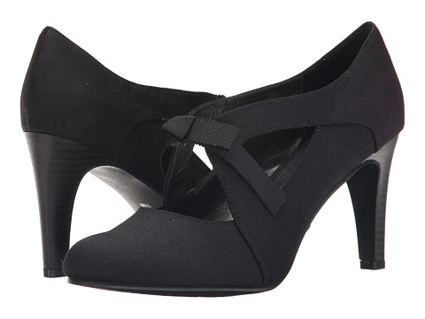 Ann Marino - Telma (Black Fabric) High Heels