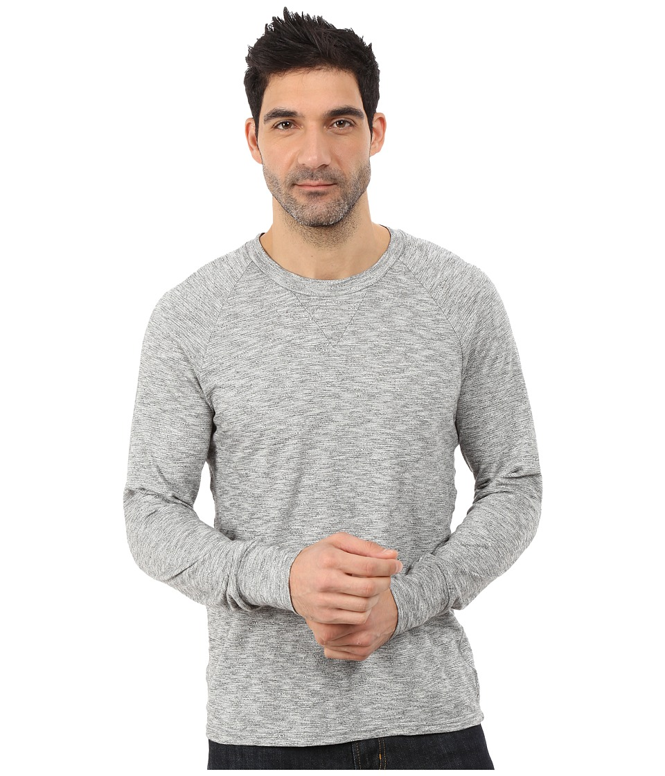 7 For All Mankind - Crew Neck Pullover (Ecru) Men's Clothing