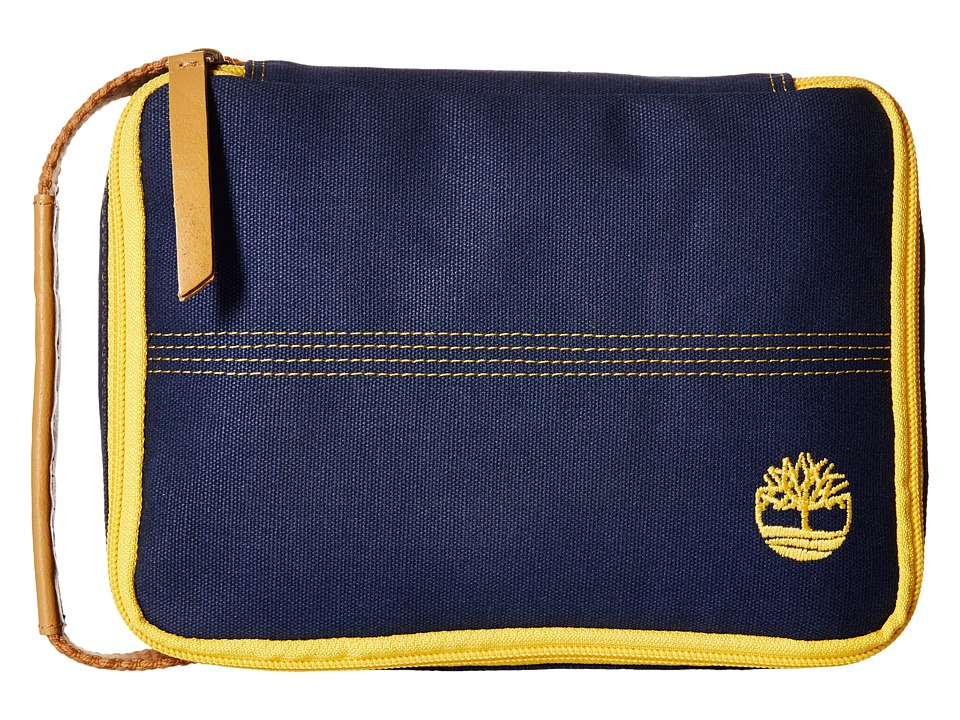 Timberland - Canvas Flat Pack Travel Kit (Navy) Travel Pouch