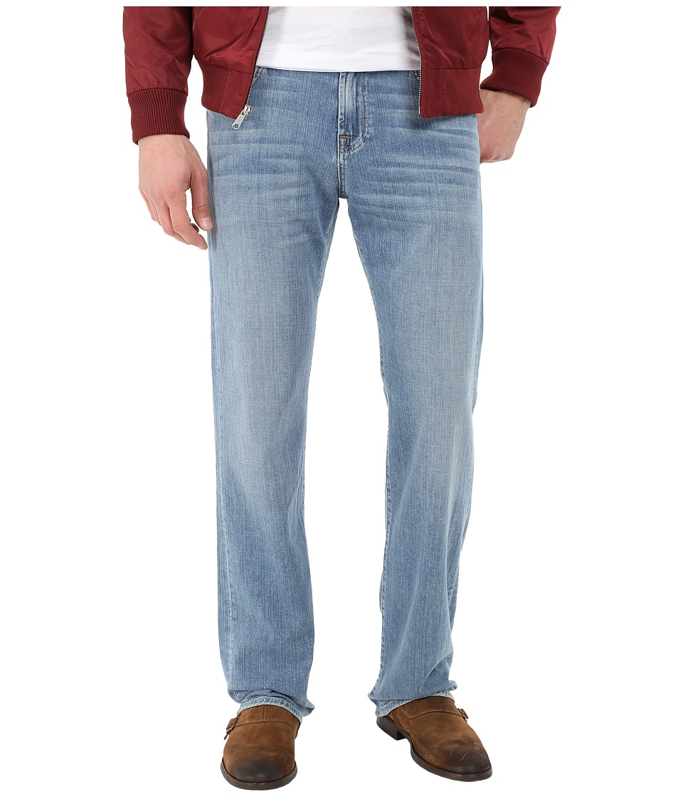 7 For All Mankind - Austyn w/ Clean Pocket in High Tides (High Tides) Men