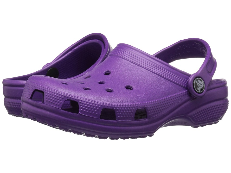 Crocs Kids - Classic (Infant/Toddler/Youth) (Amethyst) Kids Shoes