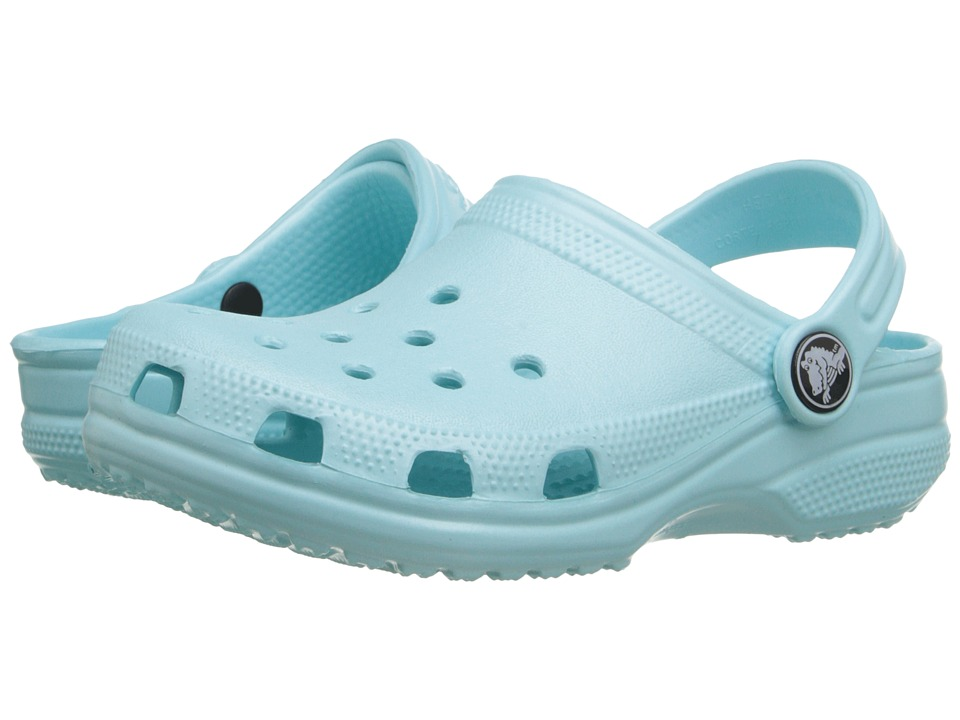 Crocs Kids - Classic (Infant/Toddler/Youth) (Ice Blue) Kids Shoes