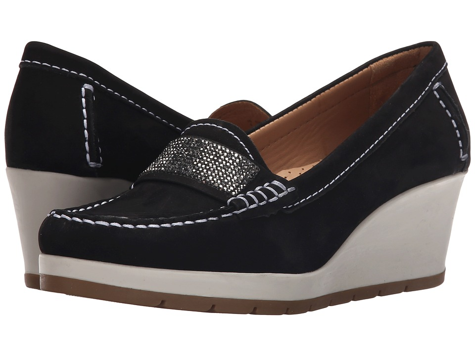 Hush Puppies - Tracy (Black Nubuck) Women