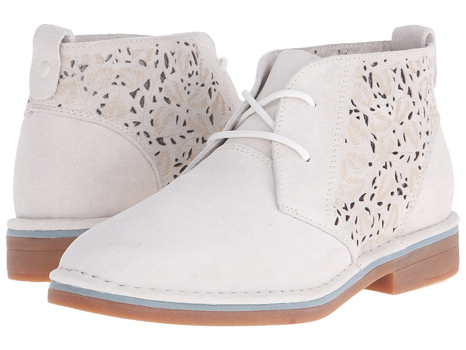 Hush Puppies Cyra Catelyn II (Off White Perf Suede) Women