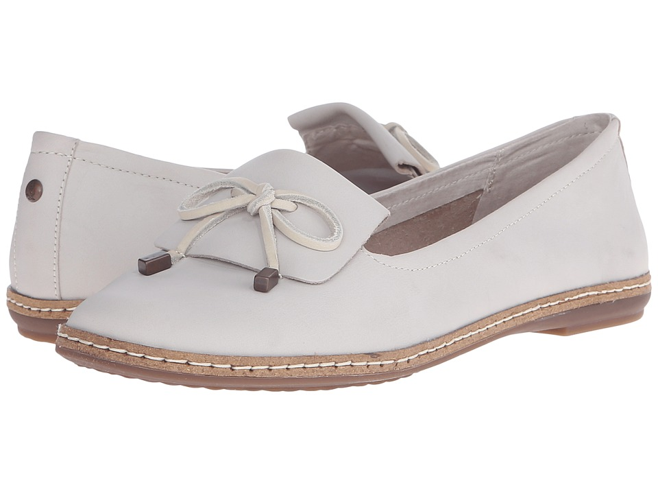 Hush Puppies Adena Piper (Off-White Leather) Women