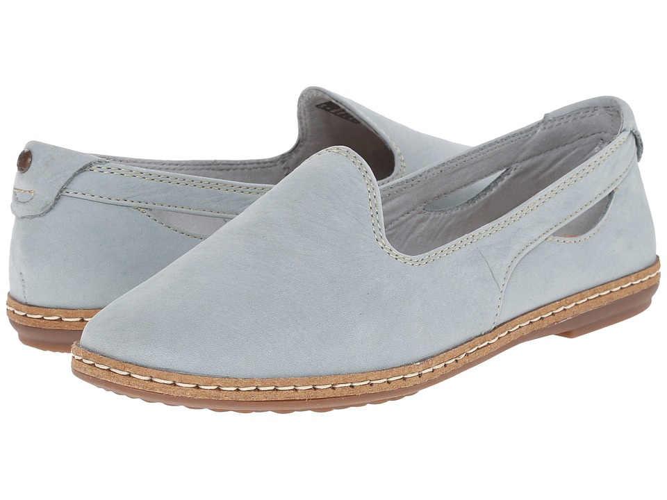 Hush Puppies - Sebeka Piper (Slate Blue Nubuck) Women
