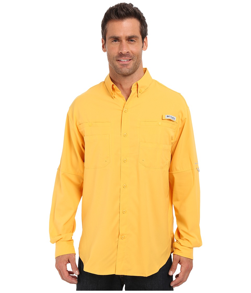 Columbia - Tamiami II L/S (Amber) Men's Long Sleeve Button Up