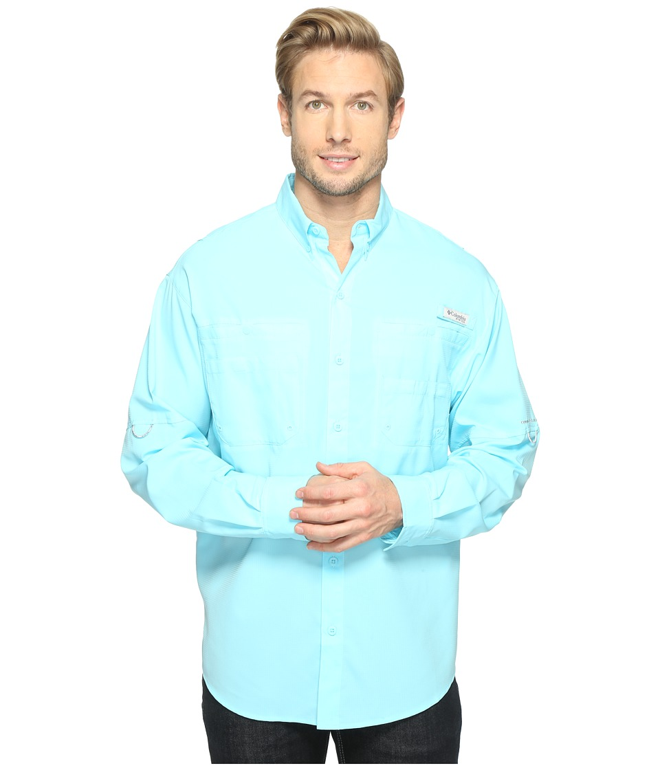 Columbia - Tamiamitm II L/S (Coastal Blue) Men's Long Sleeve Button Up