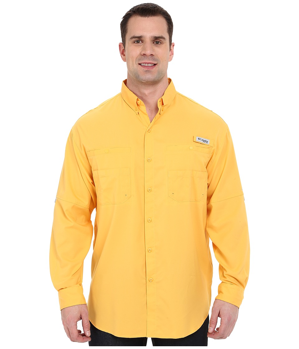 Columbia - Tamiami II L/S - Big (Amber) Men's Long Sleeve Button Up
