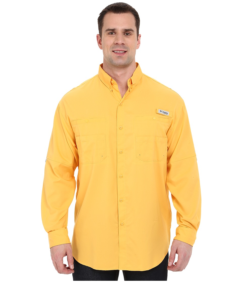 Columbia - Tamiami II L/S - Tall (Amber) Men's Long Sleeve Button Up