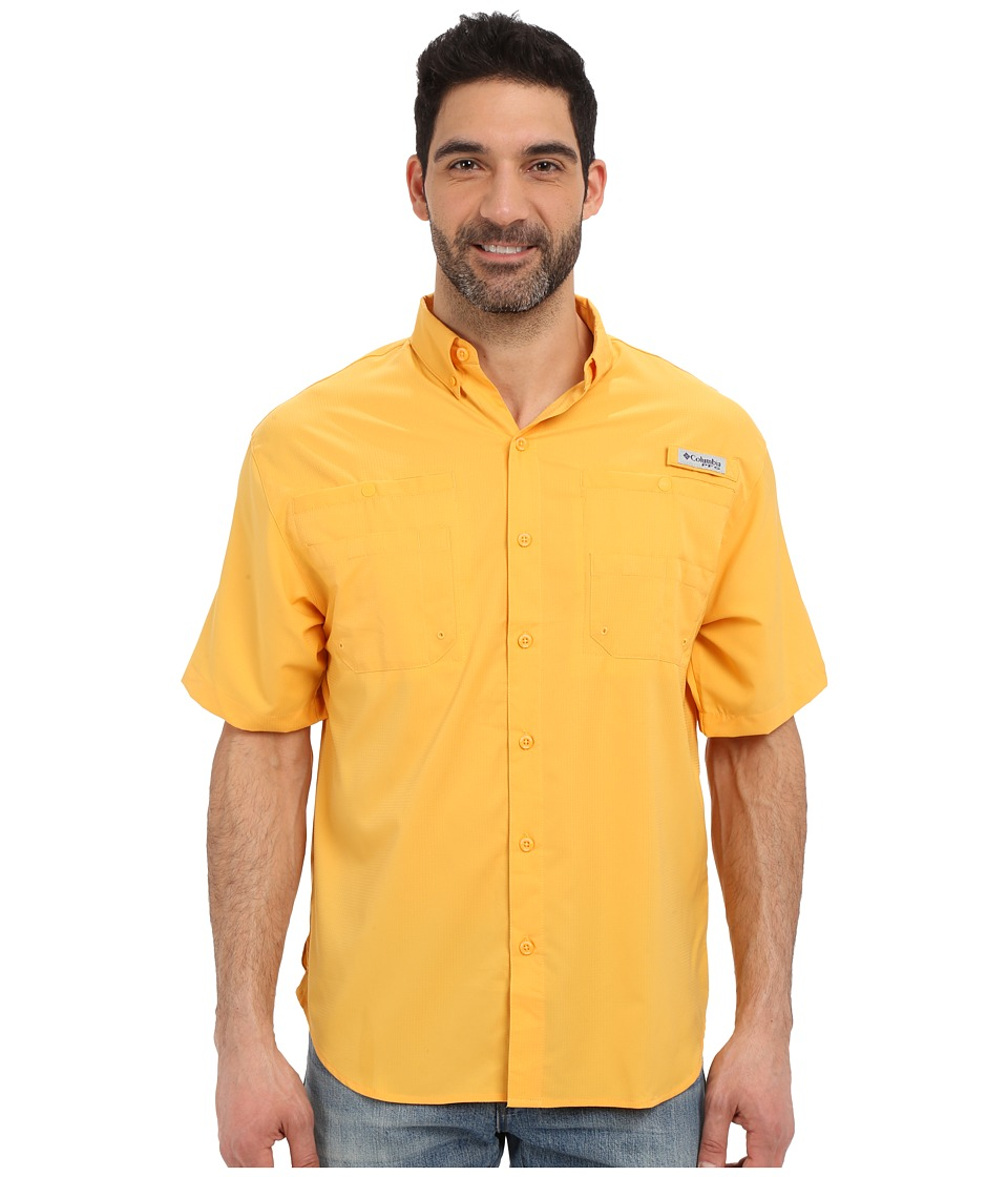 Columbia - Tamiami II S/S (Amber) Men's Short Sleeve Button Up