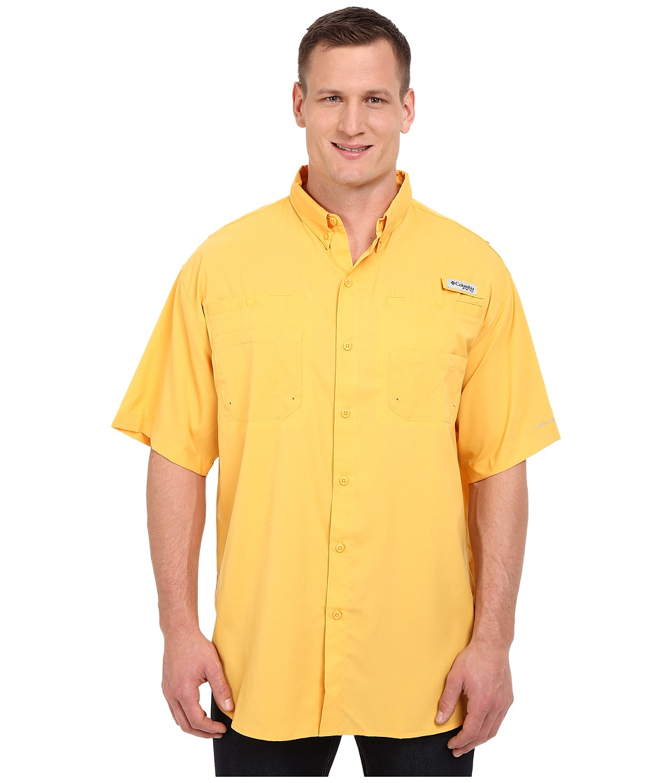 Columbia - Tamiami II S/S - Tall (Amber) Men's Short Sleeve Button Up