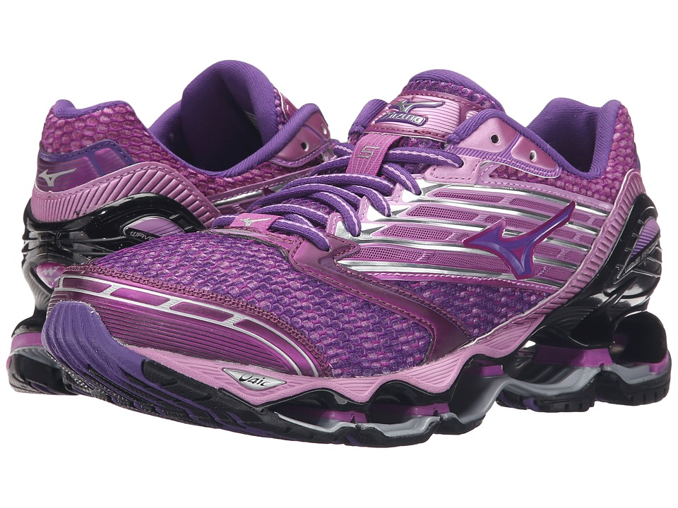 Mizuno - Wave Prophecy 5 (Hyacinth Violet/Royal Purple/Black) Women's Running Shoes