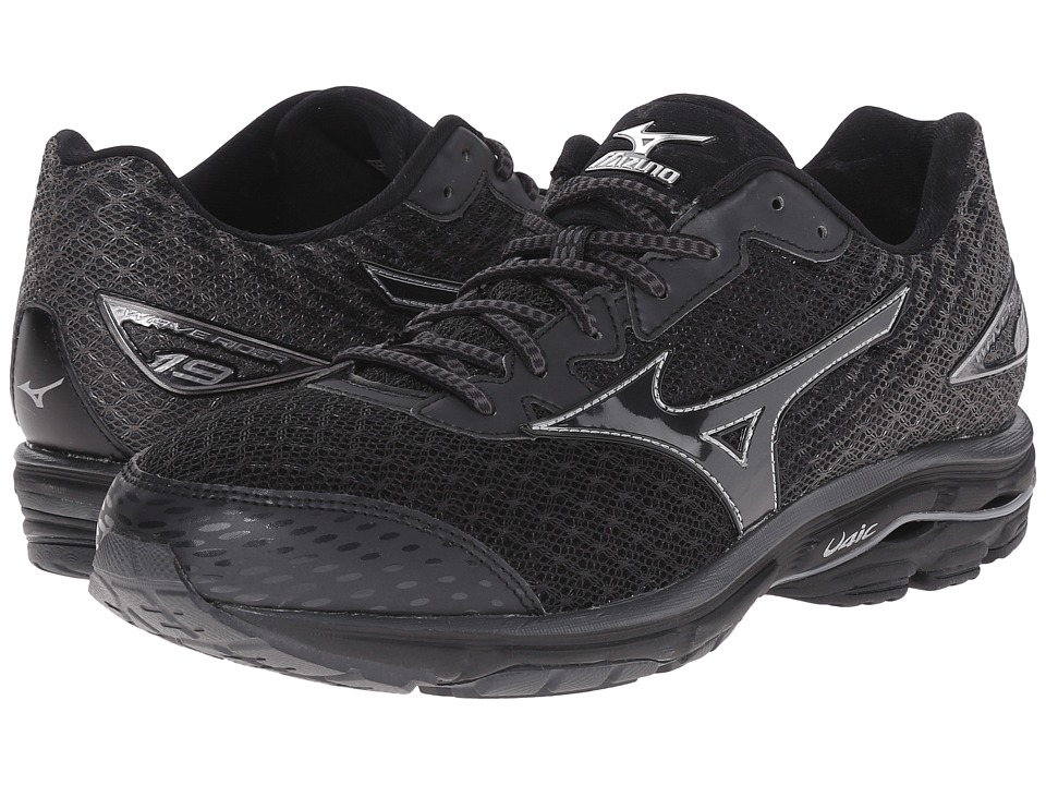 Mizuno Wave Rider 19 (Black/Dark Shadow/Black) Men