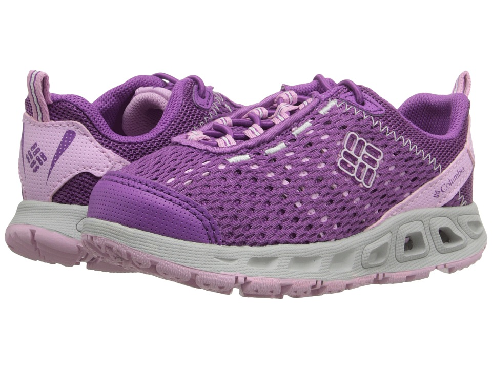 Columbia Kids - Drainmaker III (Toddler/Little Kid/Big Kid) (Razzle/Pink Clover) Girls Shoes