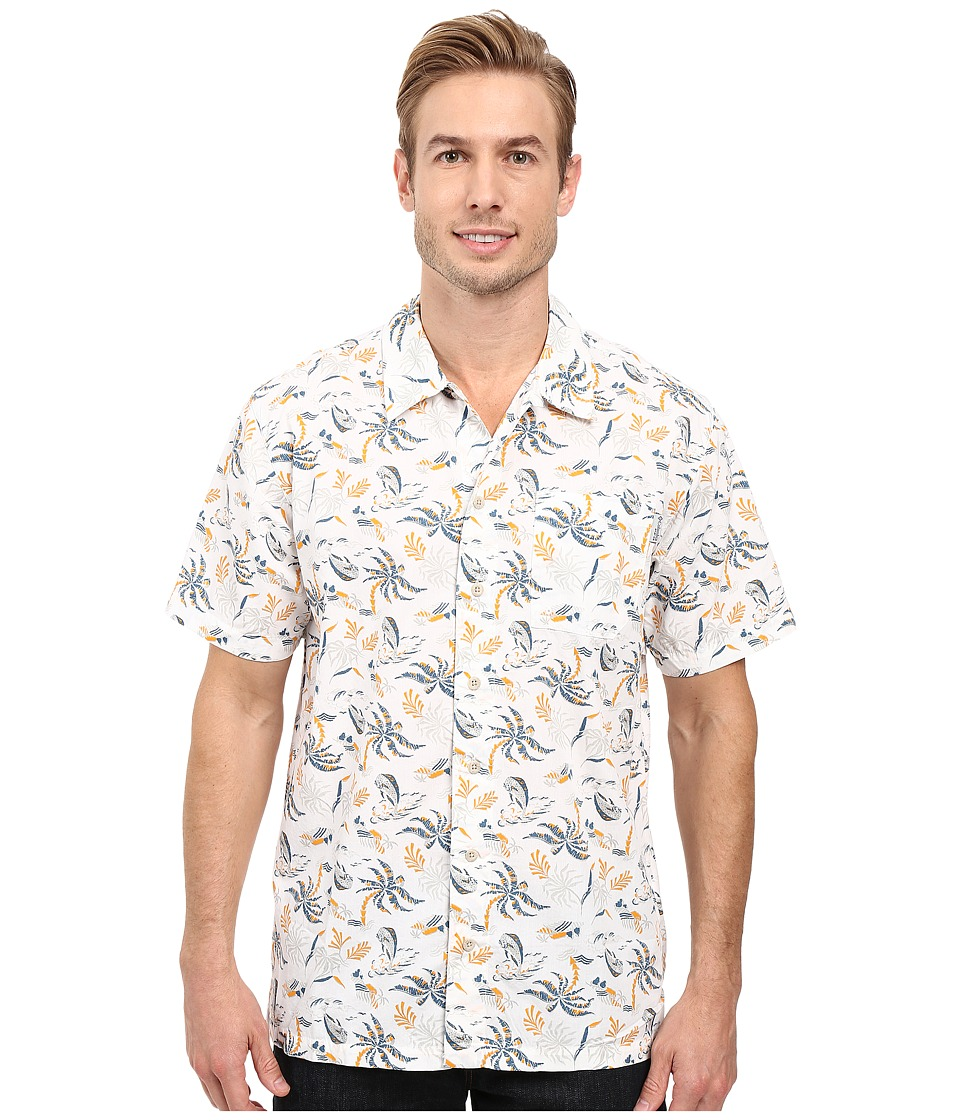 Columbia - Trollers Best S/S Shirt (Stringer Hawaiian Dorado Print) Men's Short Sleeve Button Up
