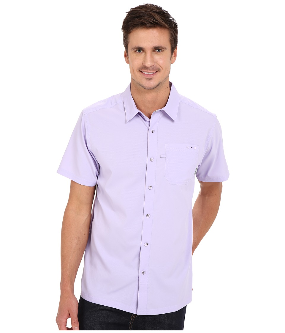 Columbia - Slack Tide Camp Shirt (Whitened Violet) Men's Short Sleeve Button Up
