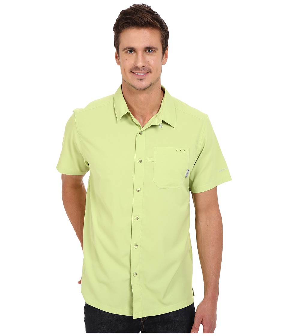 Columbia - Slack Tide Camp Shirt (Napa Green) Men's Short Sleeve Button Up