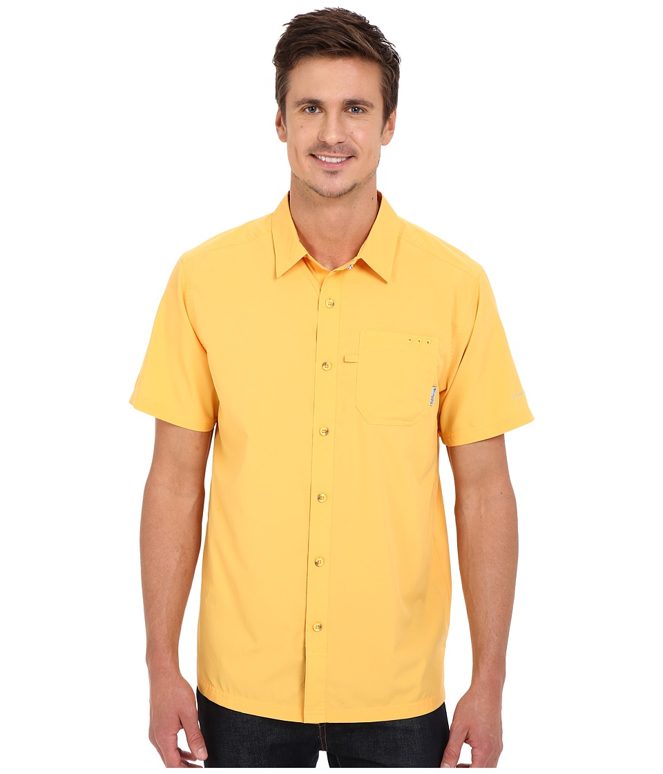 Columbia - Slack Tide Camp Shirt (Amber) Men's Short Sleeve Button Up
