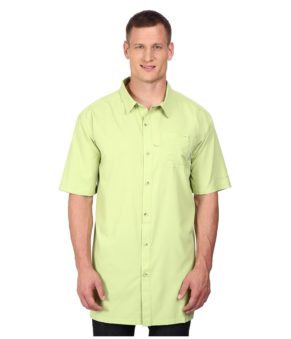 Columbia - Slack Tide Camp Shirt - Big (Napa Green) Men's Short Sleeve Button Up