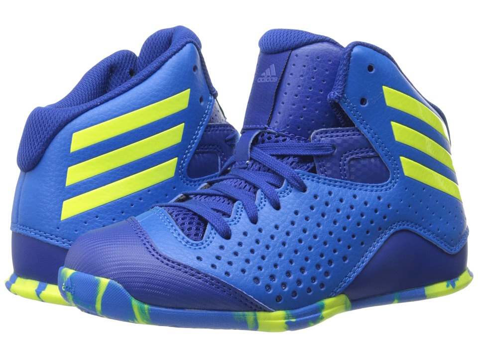 adidas Kids - Next Level Speed IV (Little Kid/Big Kid) (Shock Blue S16/Solar Yellow/Collegiate Royal) Boys Shoes