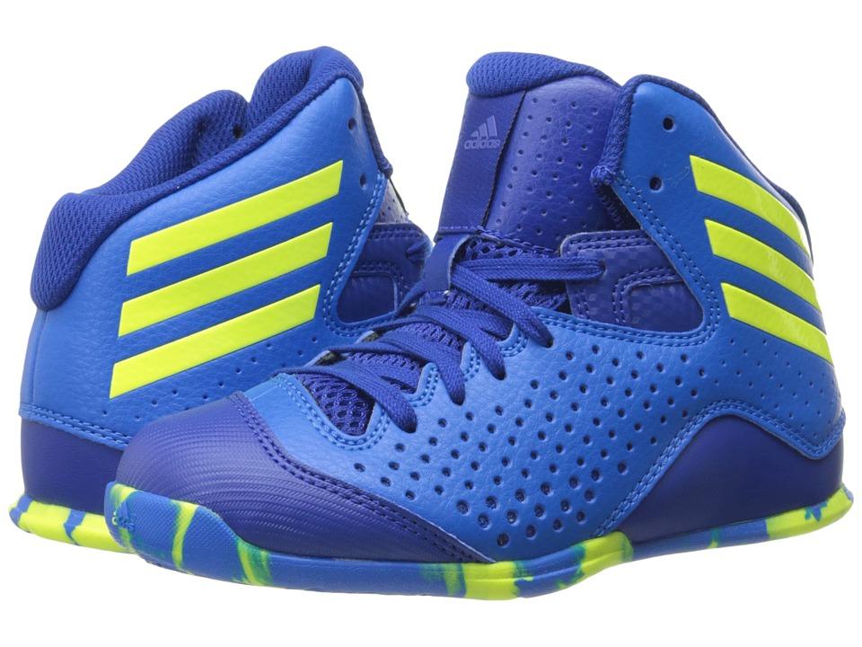 adidas Kids - Next Level Speed IV (Little Kid/Big Kid) (Shock Blue S16/Solar Yellow/Collegiate Royal) Boys Shoes