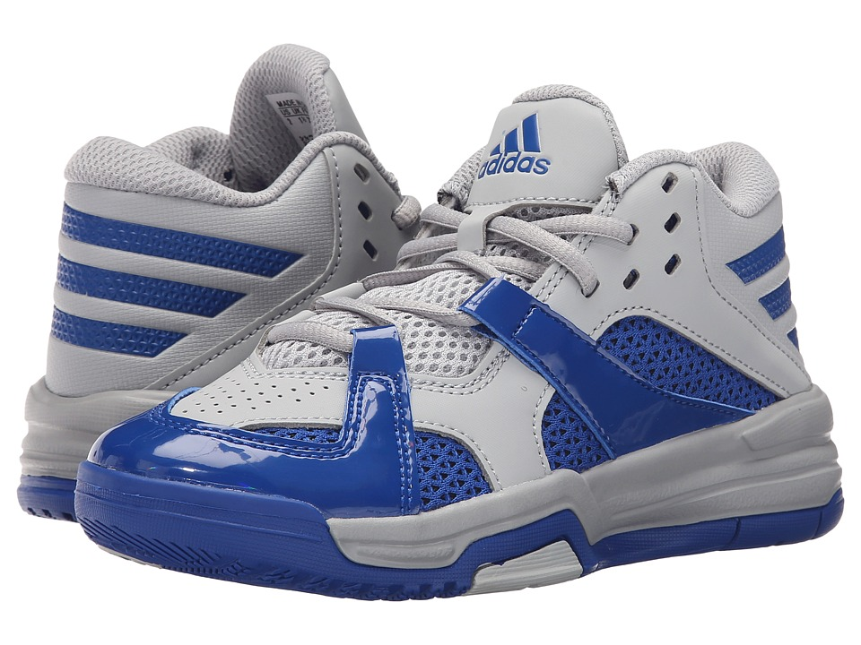 adidas Kids - First Step (Little Kid/Big Kid) (Clear Onix/Collegiate Royal) Boys Shoes