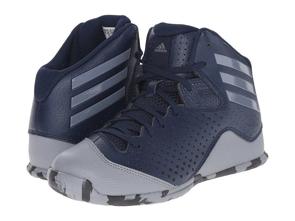 adidas Kids - Next Level Speed IV (Little Kid/Big Kid) (Collegiate Navy/Grey) Boys Shoes