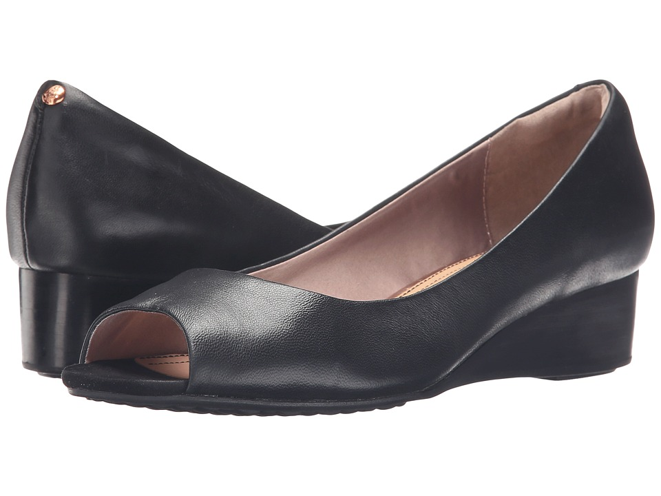 Hush Puppies Bryce Admire (Black Leather) Women