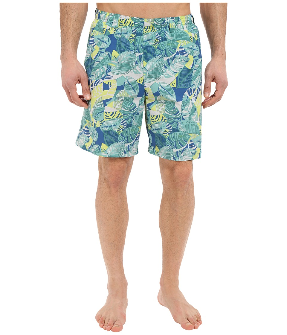 Columbia - Backcast II Printed Trunk (Gemstone Palm Multi) Men's Shorts