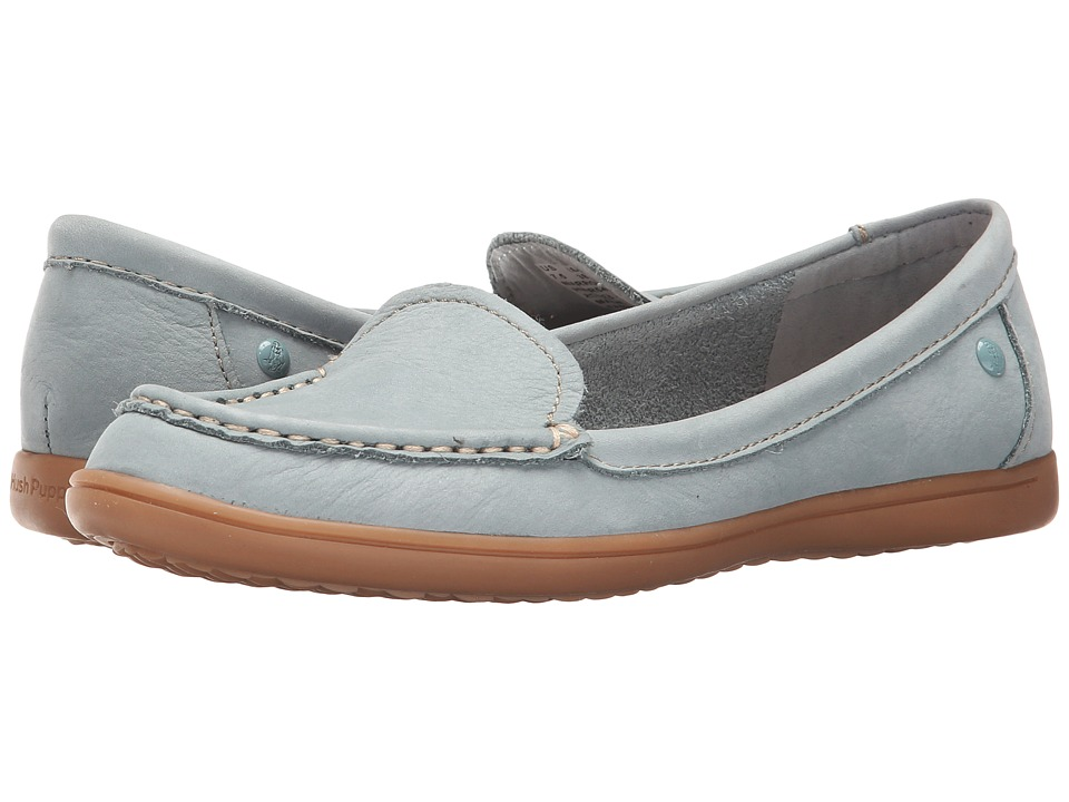 Hush Puppies - Ryann Claudine (Slate Blue Nubuck) Women