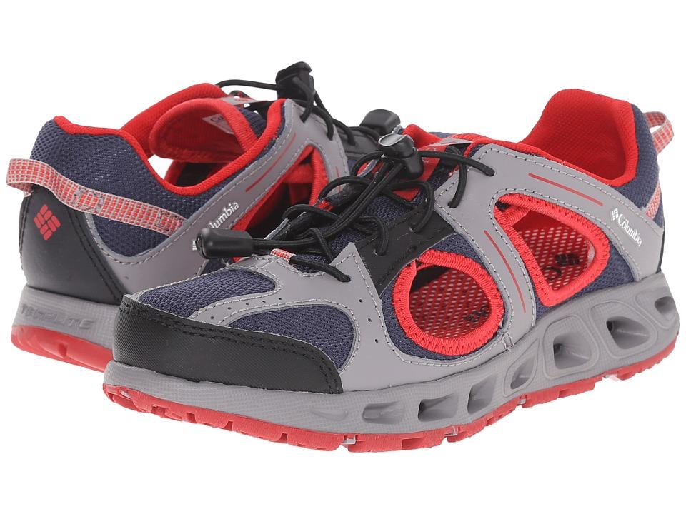 Columbia Kids Supervent (Toddler/Little Kid/Big Kid) (Nocturnal/Light Grey) Boys Shoes