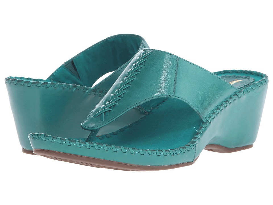 Hush Puppies Aven Copacabana (Turquoise Leather) Women