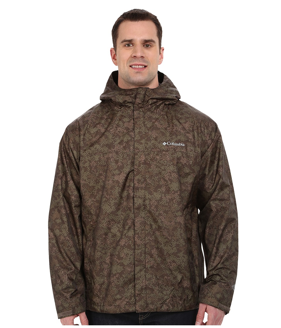Columbia - Big Tall Watertight Printed Jacket (Commando Digital Camo) Men's Coat