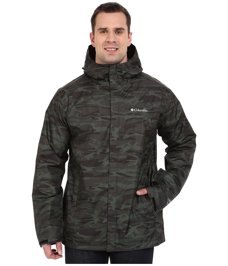 Columbia - Big Tall Watertight Printed Jacket (Commando Camo) Men's Coat