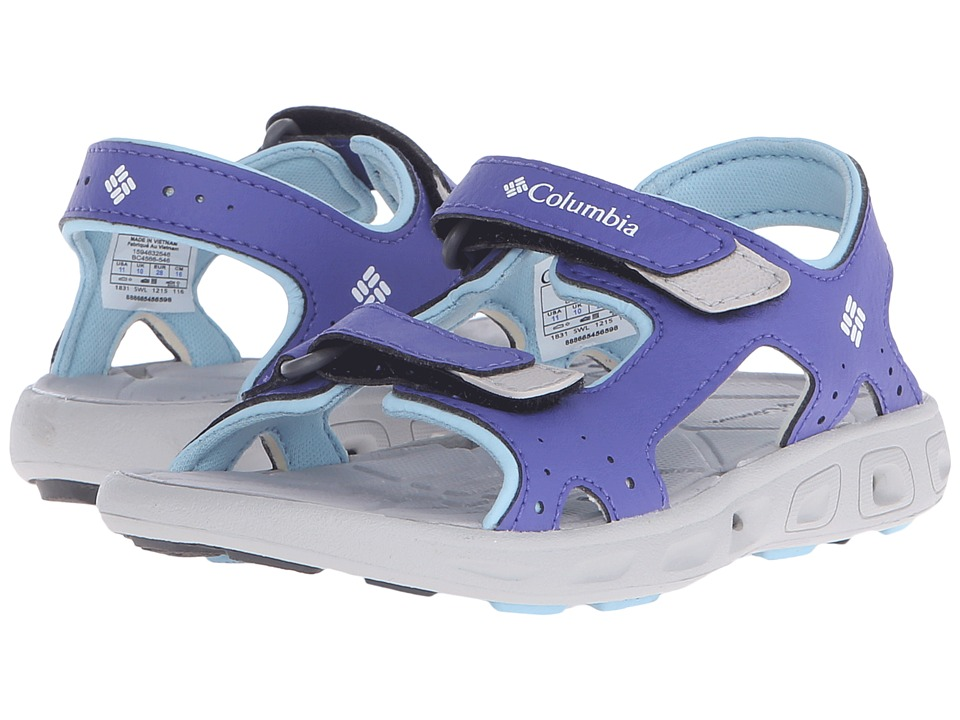 Columbia Kids - Techsun Vent (Toddler/Little Kid/Big Kid) (Purple Lotus/Sky Blue) Girl