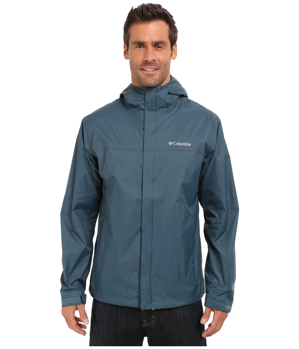 Columbia - Watertight II Jacket (Everblue/Chartreuse) Men's Coat