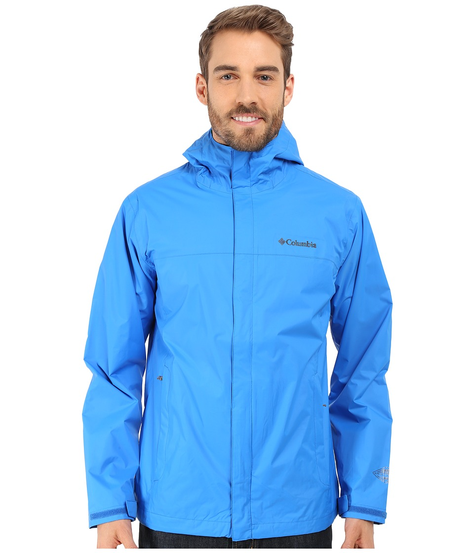 Columbia - Watertight II Jacket (Hyper Blue/Fuse Green) Men's Coat