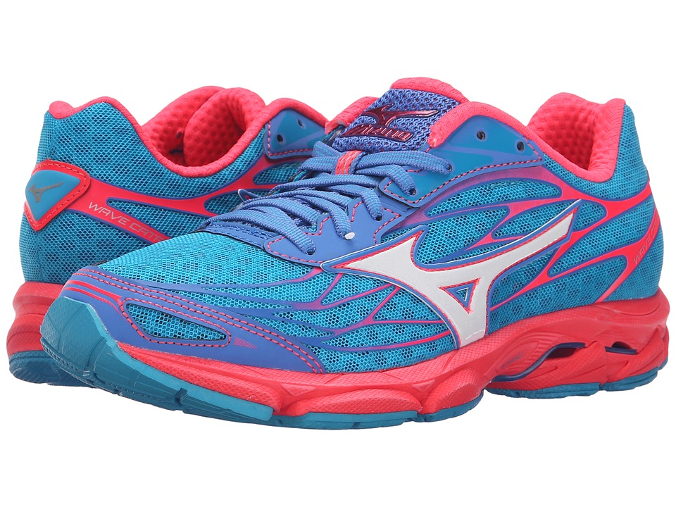 Mizuno - Wave Catalyst (Atomic Blue/White/Diva Pink) Women's Running Shoes