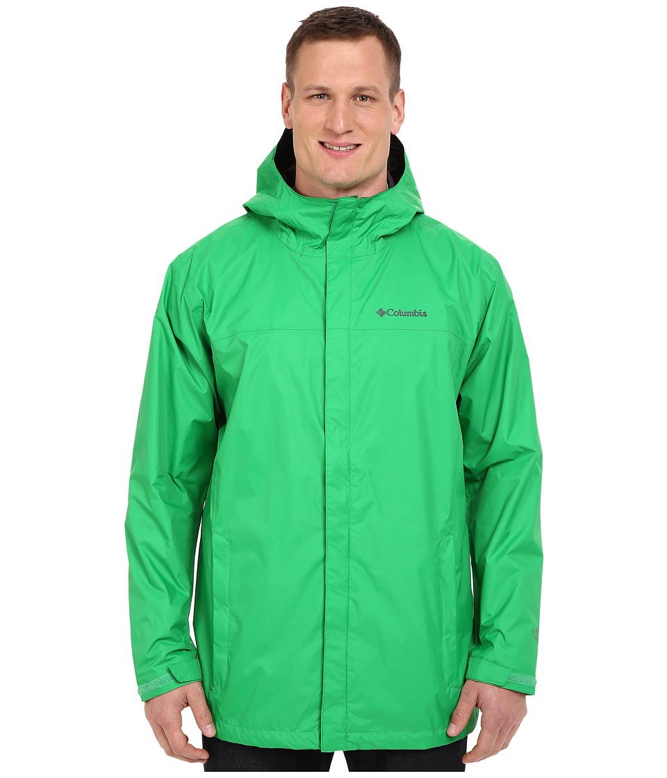 Columbia - Watertight II Jacket - Tall (Fuse Green) Men's Coat