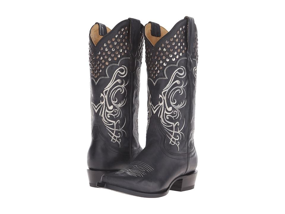 Stetson Big Lila (Black Vamp) Cowboy Boots
