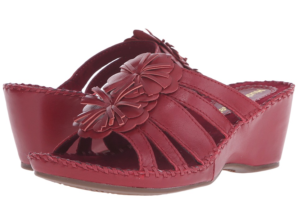 Hush Puppies Gallia Copacabana (Dark Red Leather) Women