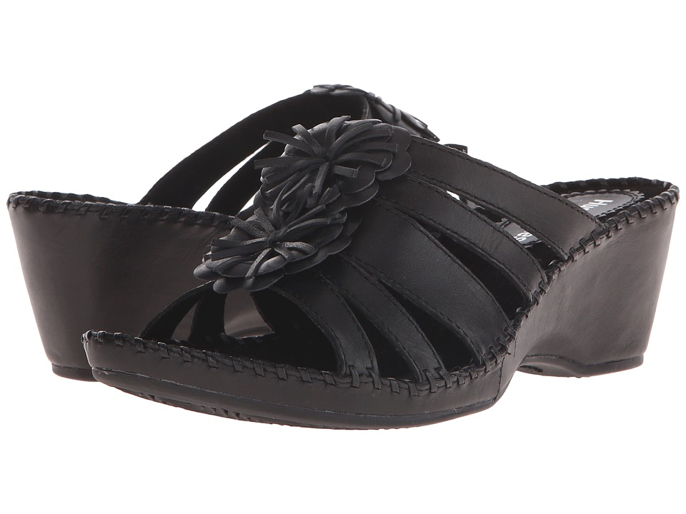 Hush Puppies Gallia Copacabana (Black Leather) Women