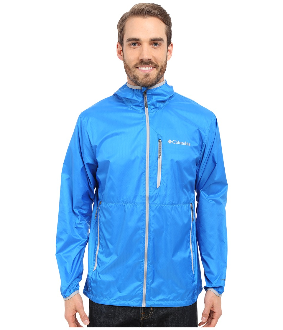 Columbia - Trail Drier Jacket (Hyper Blue/Columbia Grey) Men's Coat